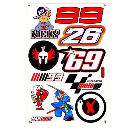 Ducati 3d Sticker by Nicky Haden Numero 69 Motorcycle Moto Gp Ducati Corse
