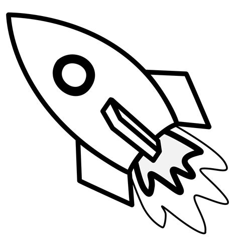 bottle rocket coloring page space rocket clip art black and white pics about space