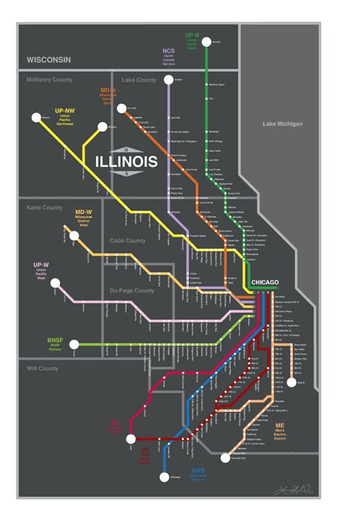 chicago metra map chicago metra map poster yeah chicago