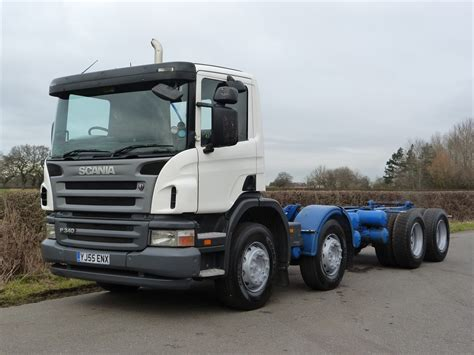 scania p340 8 x 4 chassis cab
