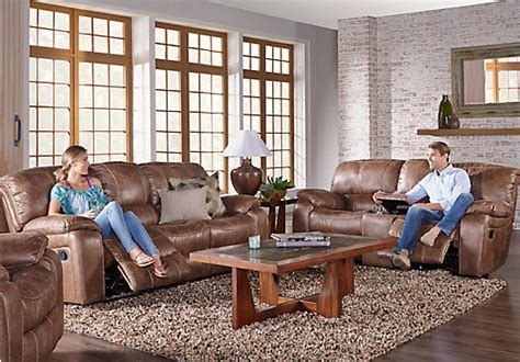 cindy crawford home alpen ridge reclining sofa cindy crawford home alpen ridge tan 3 pc reclining living
