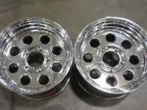 Weld Truck Wheels Weld Racing T50 Polished Truck Wheels T50p7100s48a 17 X 10