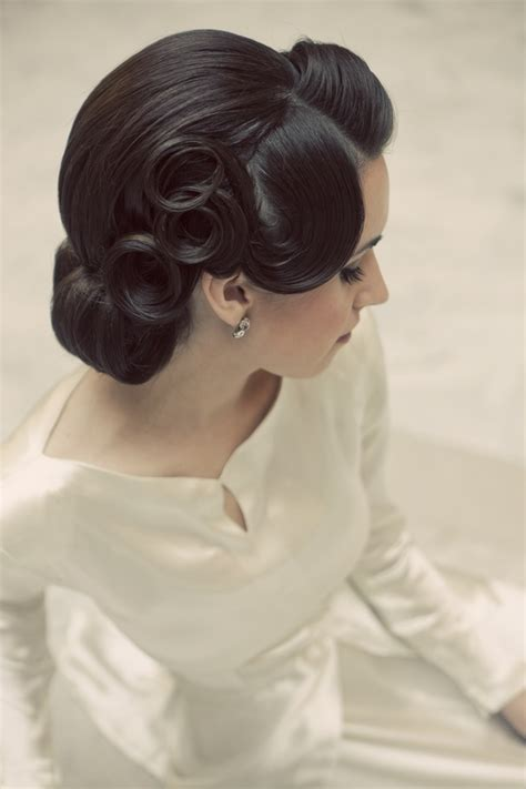 Vintage Hairstyle Wedding Hair Hairstylegalleries by 1950 Hair Styles Hairstylegalleries