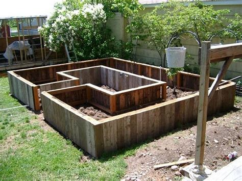 raised garden beds design learn how to build a u shaped raised garden bed home