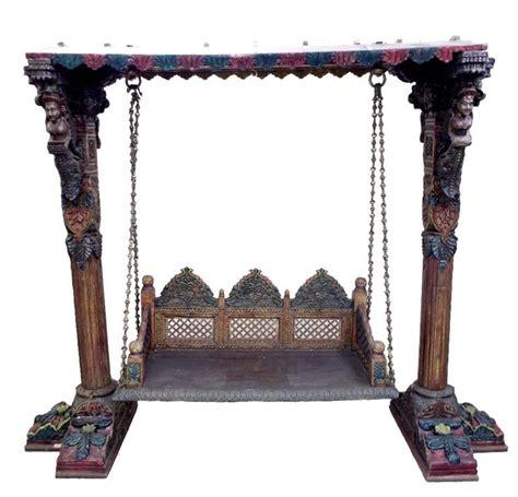 indian swing furniture antique swing royal indian rajasthani jodhpur hand carved