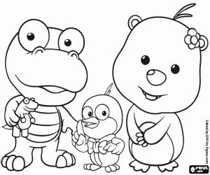 Pororo the Little Penguin coloring pages printable games