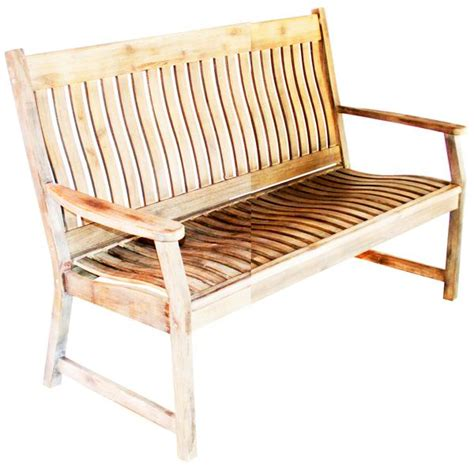 curved outdoor bench with back leisuregrow hanoi 2 seat curved back bench garden trends