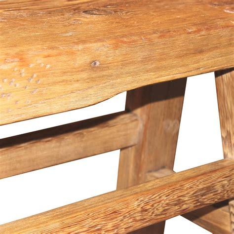 elm bench rustic elm bench at 1stdibs