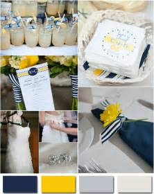 navy blue wedding color schemes the blues and pops of color in these two combinations