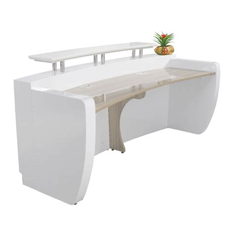 modern white reception desk modern white curved reception desk front desk for sale
