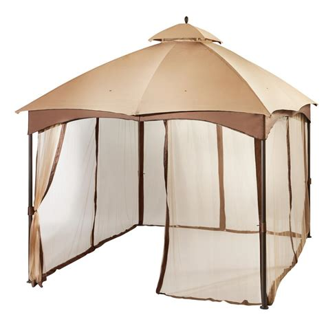 Patio Netting Home Depot Biscayne Gazebo Replacement Netting L Gz933pst Mn The