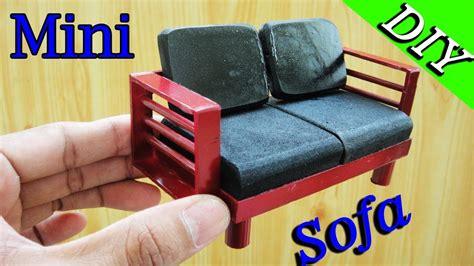 how to make miniature sofa how to make miniature realistic english double seated sofa