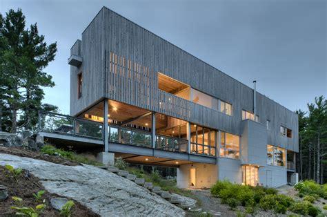 home design concept lyon bridge house mackay lyons sweetapple architects archdaily