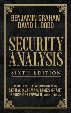 libro security analysis security analysis sixth edition foreword by warren buffett limited leatherbound edition