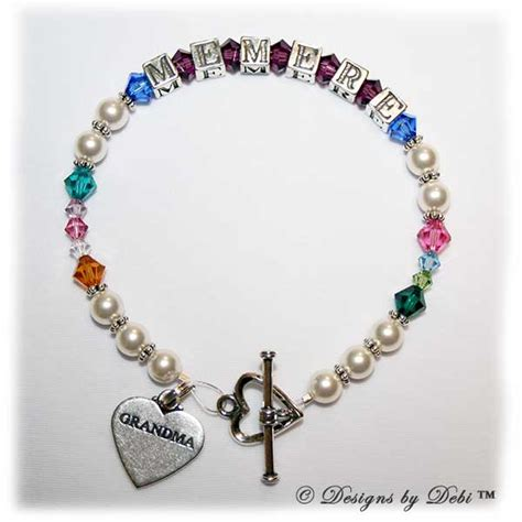 Handmade Bracelet Designs - designs by debi handmade jewelry personalized keepsake