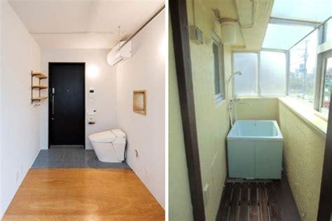 appartamenti giapponesi wc all ingresso e vasca in terrazza sono cos 236 i