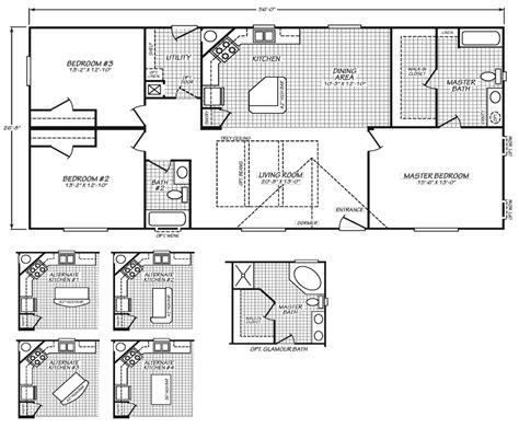 home floor plans oregon marin 28 x 56 1492 sqft mobile home factory expo home centers