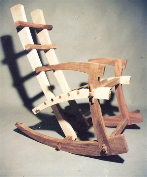 japanese woodworker japanese rocking chair when the time it was build by