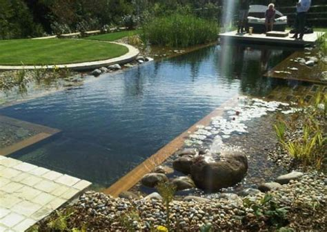 natural swimming pool enjoying your garden this summer natural swimming pools