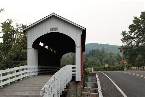 Cottage Grove Covered Bridge Tour Route by Dorena Lake Picture Of Cottage Grove Covered Bridge Tour