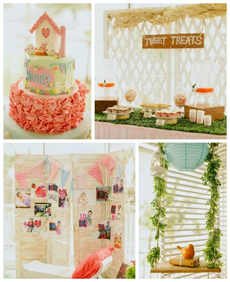 shabby chic garden ideas kara s ideas shabby chic garden 1st birthday