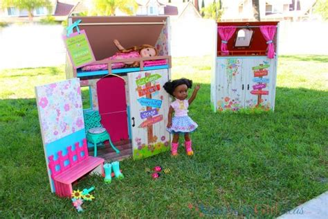 dolls play house diy wellie wishers doll playhouse american girl ideas american girl ideas