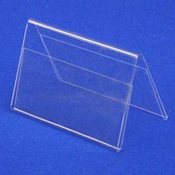 Acrylic Tent Card acrylic tent card holder acrylic shelf talker manufacturer from new delhi