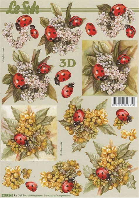 Decoupage 3d - 17 best images about print then cut flower stackers on