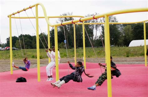 swings playground equipment 10 great places to soar on a swing