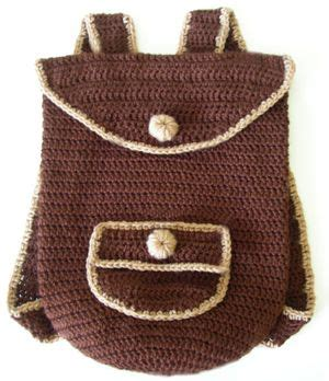 Backpack Ransel Canvas Hello 1000 ideas about crochet backpack pattern on