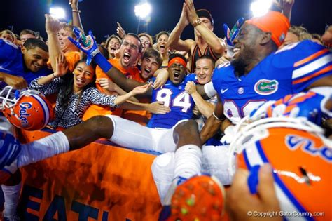 To The Florida Gators Fans Thank You Florida Gators