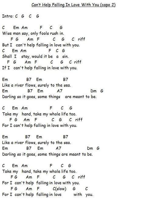 ukulele tutorial can t help falling in love image result for can t help falling in love ukulele easy