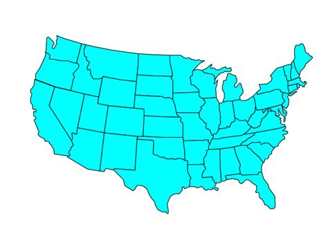 us map clipart powerpoint free us map clip cliparts co