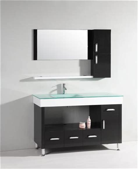 modern bathroom vanity mirror asymmetrical bathroom vanities for a stylish modern bathroom