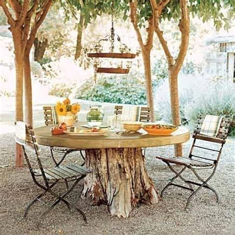 tree on table tree stump dining table quotes