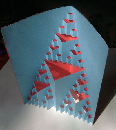 Fractal Cutout Card Fractal Foundation