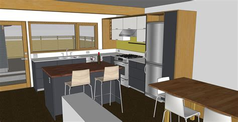 sketchup kitchen design kitchen sketchup chezerbey