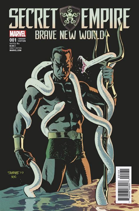 brave new universe one s view of all that is books secret empire brave new world 1 samnee variant se value