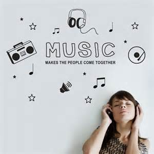 wall decal music icons coolwallart music is what feelings wall sticker by wall art