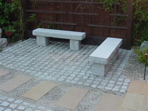 japanese stone bench japanese straight stone bench build a japanese garden uk