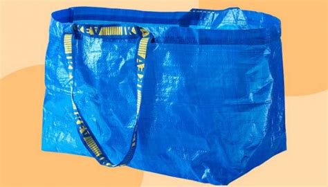 Ikea Frakta Kantong Belanja Ukuran Besar Warna Biru netizen adu kreativitas memodifikasi tas belanja ikea gaya tempo co
