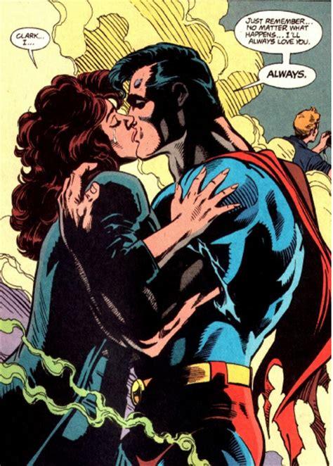 Kaos Justice League Dc 3 Batman Superman Wonderwoman kent clark superman lois relationship page 7