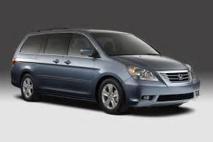 Honda Ody 2008 Honda Odyssey Unveiled With A Accord Like Grille