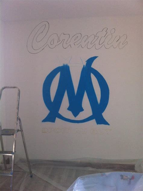 Decoration Om by D 233 Coration Chambre Olympique De Marseille