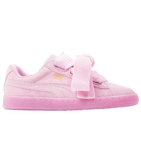imagenes para wasap lazo rosa zapatillas puma suede heart reset