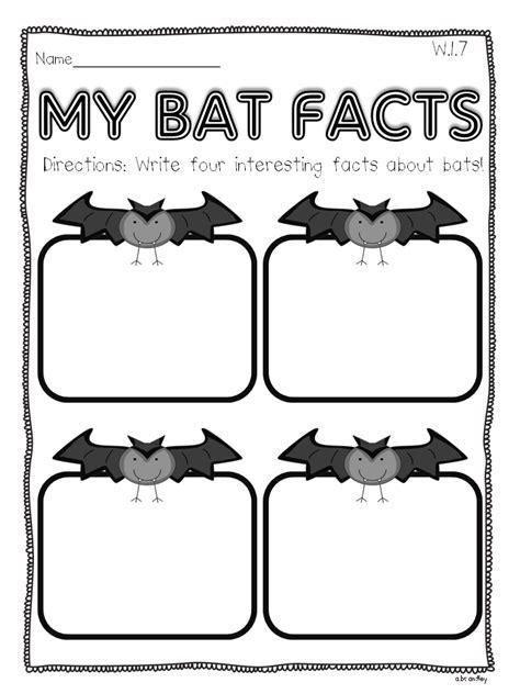 bat writing paper for grade bats informational writing