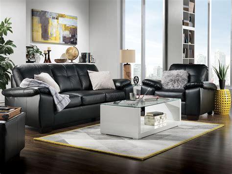 leons naples leather sofa naples sofa black s