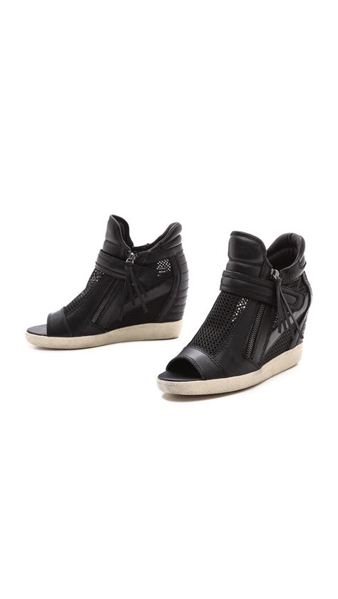 open toe sneaker wedges open toe sneaker wedges 28 images ash galaxy open toe