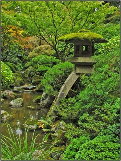 japanese moss garden love the lantern garden water falls fo