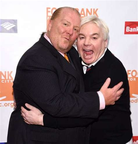 mike myers the actor mario batali mike myers and ledisi rock the food bank gala
